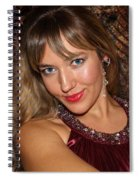 Eyes To Die For Spiral Notebook