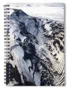 Eyjafjallajokull And The Glacier Spiral Notebook