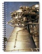 F-1 Rocket Engine Spiral Notebook