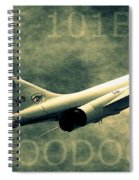 F-101b Voodoo Spiral Notebook