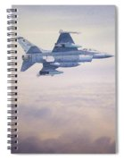 F-16 Fighting Falcon Spiral Notebook