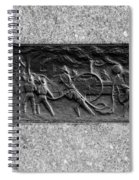 F. D. N. Y. In Black And White Spiral Notebook