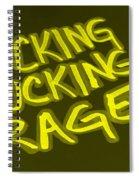 F F R Yellow Spiral Notebook