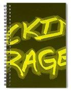 F R Yellow Spiral Notebook