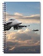 F18 - Super Hornet Spiral Notebook