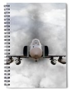 F4 Phantom Spiral Notebook