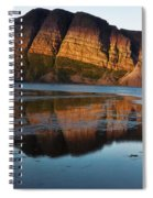 Fabulous Fjord Landscape Of Norway Spiral Notebook