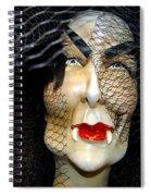 Fabulous In Fangs Spiral Notebook