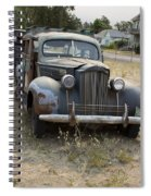 Fabulous Vintage Car Spiral Notebook