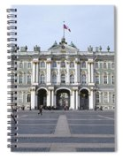 Facade Of A Museum, State Hermitage Spiral Notebook