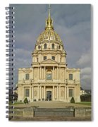 Facade Of The St-louis-des-invalides Spiral Notebook
