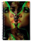 Face 2 Face Spiral Notebook
