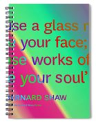 Face And Soul Definitions Spiral Notebook