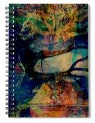 Face Cachee Spiral Notebook