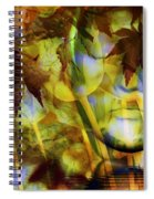 Face In The Rock Dreams Of Tulips Spiral Notebook