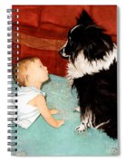 Face-to-nose Spiral Notebook