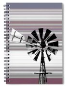 Face To The Wind Spiral Notebook