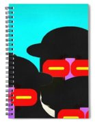 Faces In A Crowd Spiral Notebook