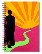 Facing East - A New Dawn Spiral Notebook
