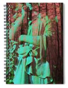 Fade Into The Woods Spiral Notebook