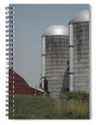 Faded Farm Spiral Notebook