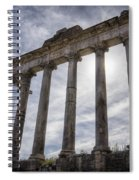 Faded Glory Of Rome Spiral Notebook