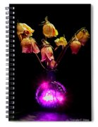 Faded Memories Spiral Notebook