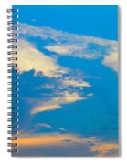 Fading Clouds Spiral Notebook