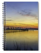Fading Colors Spiral Notebook