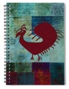 Fafa Bird - 01c01bcr Spiral Notebook