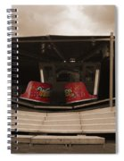 Fairground Waltzer In Sepia Spiral Notebook