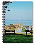 Fairhope Alabama Pier Spiral Notebook