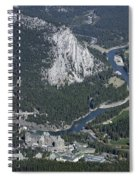 Fairmont Banff Springs Hotel And Golf Course Spiral Notebook