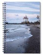 Fairport Harbor Breakwater Lighthouse Spiral Notebook