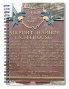 Fairport Harbor Lighthouse Spiral Notebook