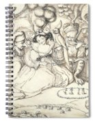 Fairy Concert, C.1830 Spiral Notebook
