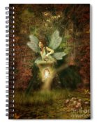 Fairy Forest Lake Spiral Notebook