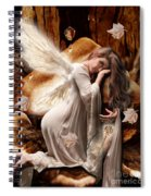 Fairy Of The Key Spiral Notebook