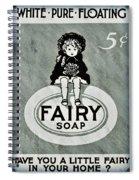 Fairy Soap Spiral Notebook