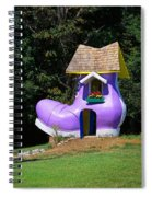 Fairy Tale Shoe House Spiral Notebook