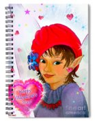 Fairy Valentine Spiral Notebook