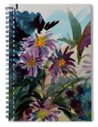 Fairyland Asters Spiral Notebook