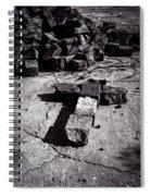 Faith Among The Ruins Spiral Notebook