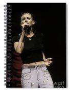 Faith Hill Spiral Notebook