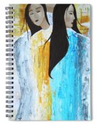 Faith Hope And Charity Spiral Notebook