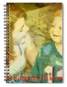 Faith Worth Sharing Spiral Notebook