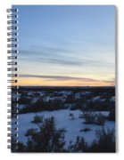 Fajada Sunset Spiral Notebook