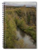 Fall Along The Creek Spiral Notebook