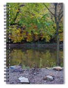 Fall Along The Scioto River Spiral Notebook