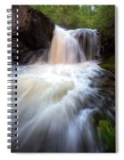 Fall And Splash Spiral Notebook